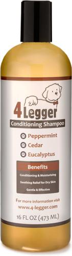 4-Legger Organic Peppermint, Cedar & Eucalyptus Dog Conditioning Shampoo