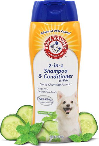 Arm & Hammer 2-in-1 Cucumber Mint Dog Shampoo & Conditioner