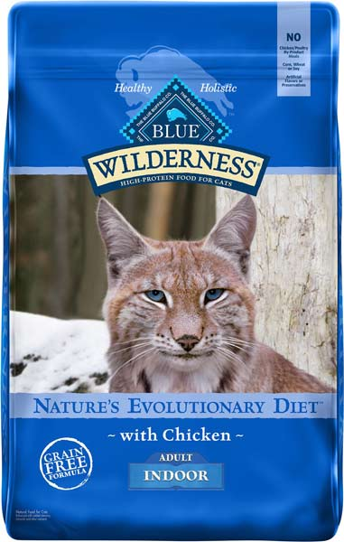 Blue Buffalo Wilderness Indoor Chicken Recipe Grain-Free