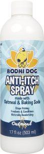 Bodhi dog shampoo for golden retreivers