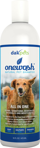 Dakpets Onewash All-in-One Natural Shampoo
