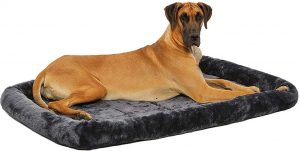 Dog Bed w Comfortable Bolster
