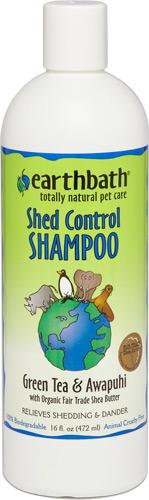 Earthbath Shed Control Green Tea & Awapuhi Shampoo