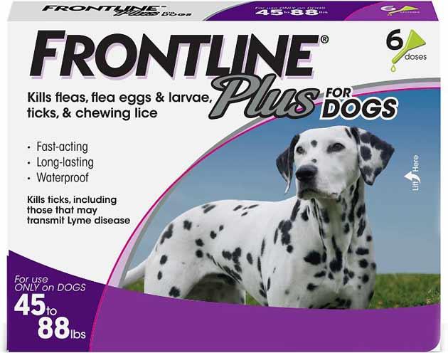 Frontline Plus Flea & Tick