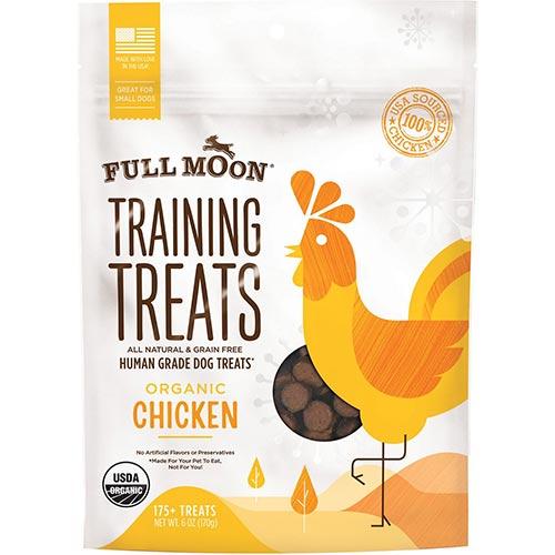 Full Moon Organic Chicken Training Treats