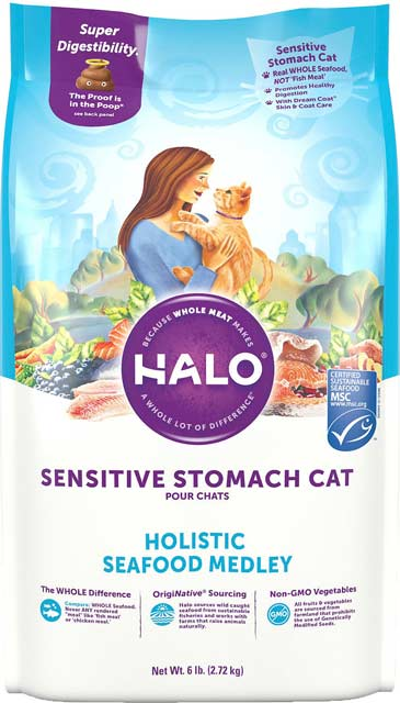 HALO Sensitive Stomach Cat
