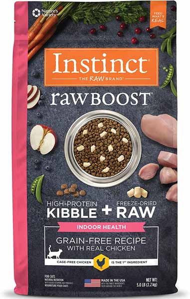 Instinct Raw Boost Indoor Grain-Free Cats