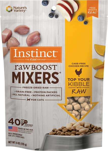 Instinct Raw Boost Mixers Chicken