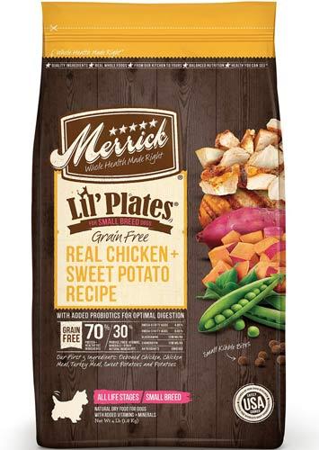 Merrick Lil' Plates Grain-Free Real Chicken & Sweet Potato