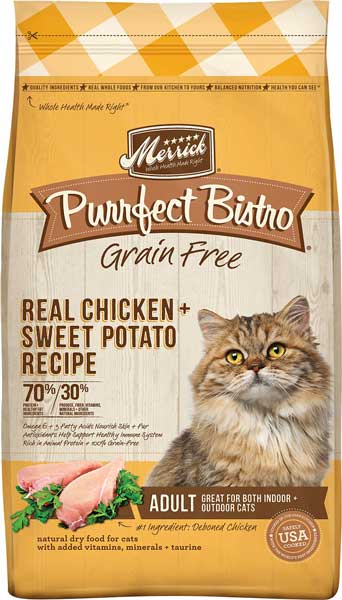 Merrick Purrfect Bistro Grain-Free Real Chicken