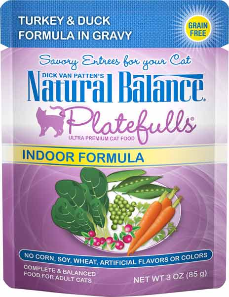 Natural Balance Platefulls Indoor Turkey & Duck