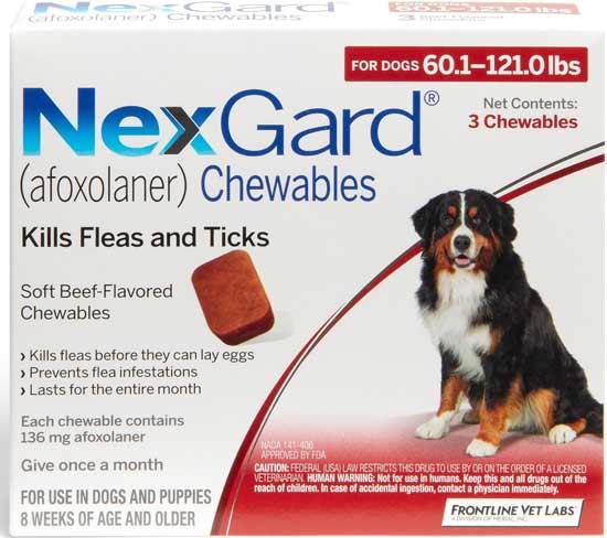 NexGard Chewable Tablets