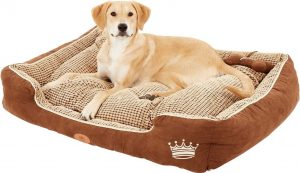 PLS Birdsong Bolster Dog Bed