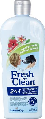 PetAg Fresh 'N Clean Tropical Fresh 2-in-1 Oatmeal