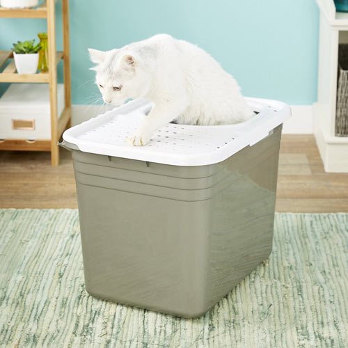 Petmate Top-Entry Litter Pan