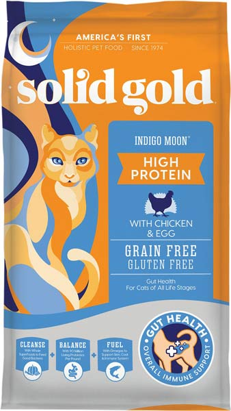 Solid Gold Indigo Moon with Chicken & Eggs Grain-Free