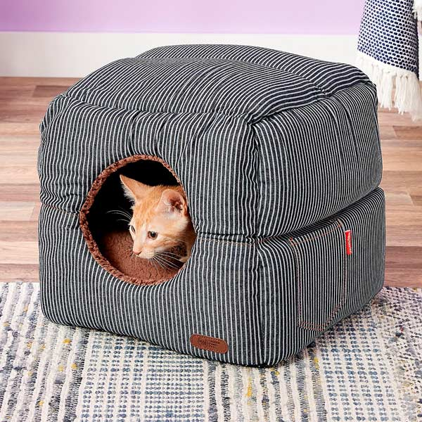2-in-1 Cat Cube & Bed