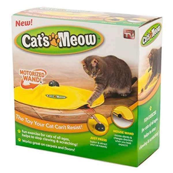 Cat's Meow Chaser Toy