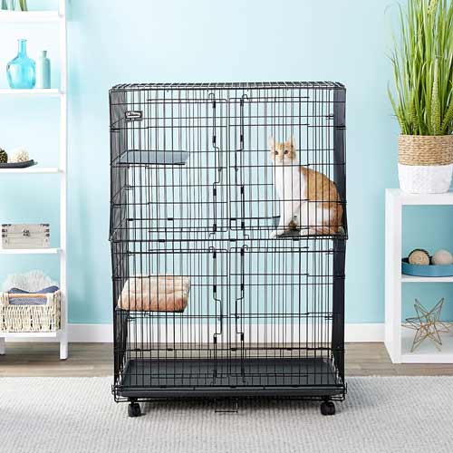 MidWest Collapsible Wire Cat Cage Playpen