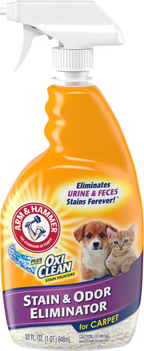 Arm & Hammer Plus Oxiclean Pet Stain & Odor Eliminator