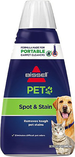 Bissell Spot Clean Pet Stain & Odor 2X Concentrated Machine Formula