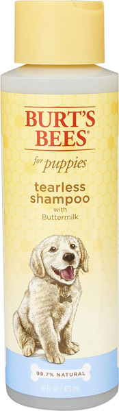 Burt's Bees Tearless Puppy Shampoo with Buttermilk for Dogs