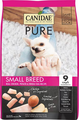 CANIDAE Grain Free PURE Small Breed