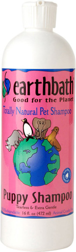 Earthbath Ultra Mild Wild Cherry Puppy Shampoo