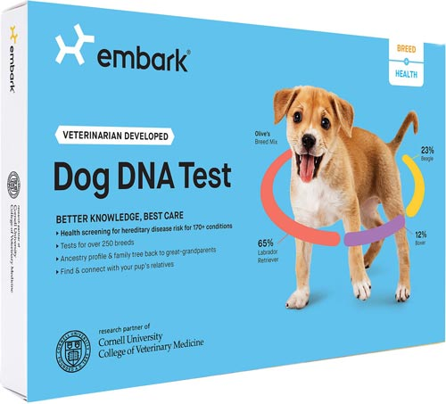 Embark Breed & Ancestry Identification DNA Test