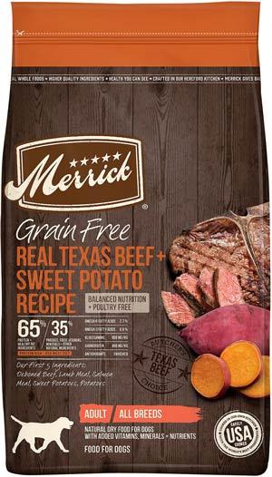 Merrick Grain-Free Texas Beef & Sweet Potato