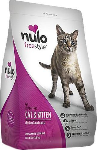 Nulo Freestyle Chicken & Cod Recipe Grain-Free Kitten