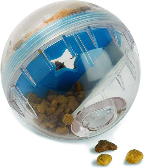 Pet Zone IQ Treat Dispenser Ball
