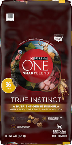 Purina-ONE-SmartBlend True Instinct Real Turkey & Venison
