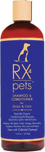 RX 4 Pets Dog & Cat Skin Irritation Shampoo