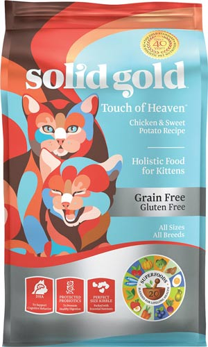 Solid Gold Touch of Heaven Chicken & Sweet Potato kitten