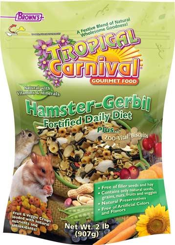 Brown's Tropical Carnival Gourmet Gerbil & Hamster Food