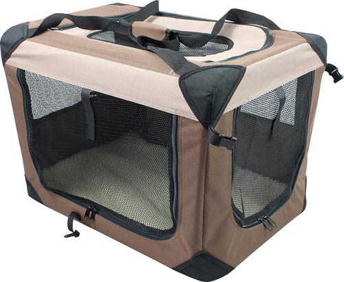 Iconic Pet Multipurpose 3 Door Collapsible Soft-Sided