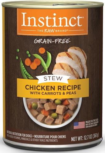 Instinct Grain-Free Stews Chicken Recipe Wet Canned