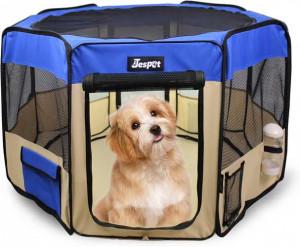 JesPet Soft-Sided Dog & Cat Playpen