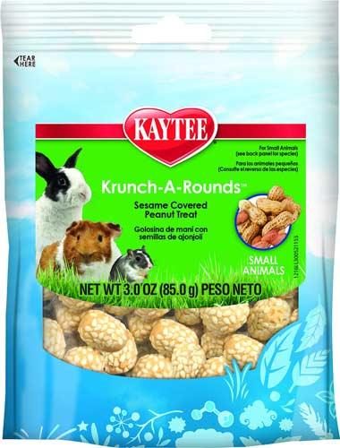 Kaytee Fiesta Krunch-A-Rounds Small Animal Treats