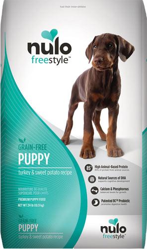 Nulo Freestyle Turkey & Sweet Potato Grain-Free Dry Puppy