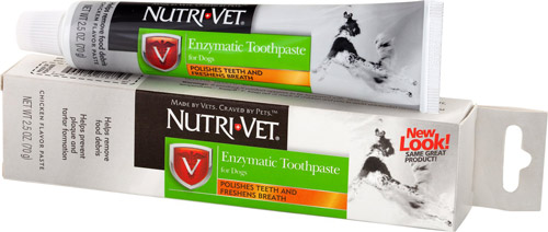 Nutri Vet Enzymatic Dog Toothpaste