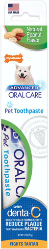 Nylabone Advanced Oral Care Natural Dog Toothpaste