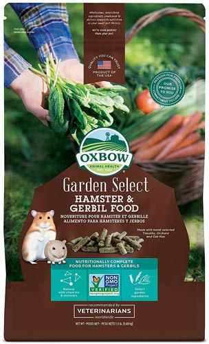 Oxbow Garden Select Gerbil & Hamster Food