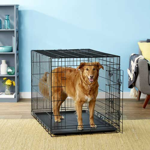 Paws & Pals Oxgord Double-Door Collapsible Wire