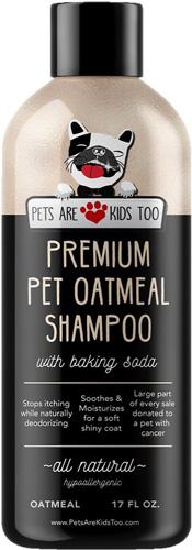 Pets Are Kids Too Premium Oatmeal Pet Shampoo
