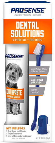 Pro Sense Plus Dental Solutions Dog Dental Kit
