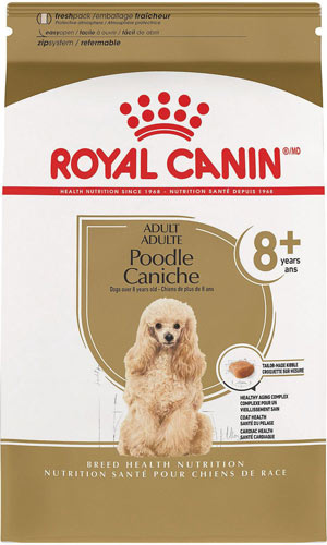 Royal Canin Breed Health Nutrition Poodle Caniche 8+