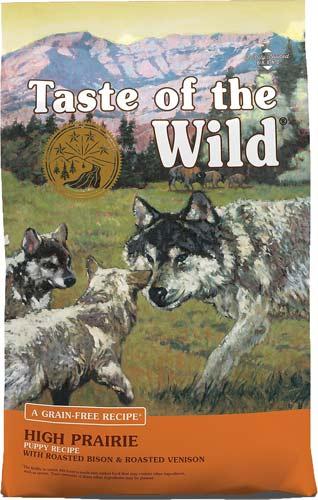 Taste of the Wild High Prairie Puppy Formula Grain-Free
