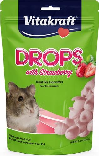 Vitakraft Drops with Strawberry Hamster Treats